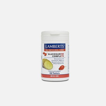 Glucosamina Completa – 120 comprimidos – Lamberts