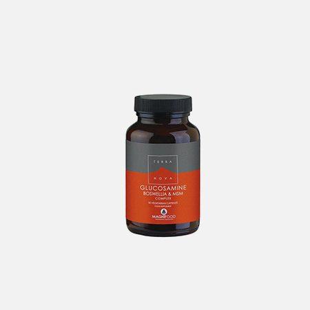 Glucosamine, Boswellia & MSM Complex – 50 cápsulas – Terra Nova