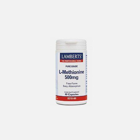 L-Methionine 500mg – 60 comprimidos – Lamberts