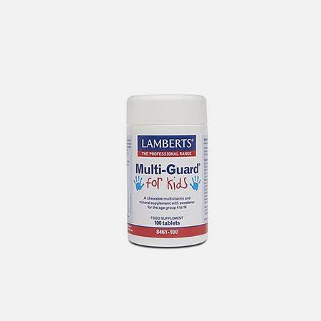 Multi Guard For Kids – 100 comprimidos – Lamberts