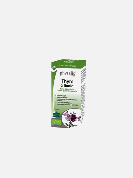 Physalis Tomilho Linalol óleos essenciais - 10ml - Biocêutica