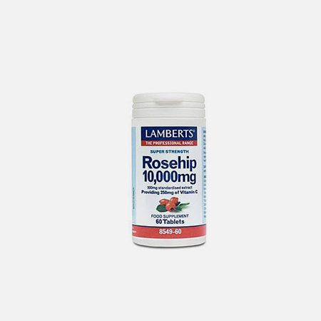 Rosehip 10,000mg – 60 comprimidos – Lamberts
