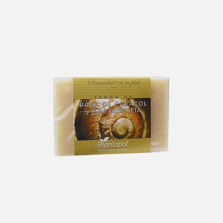 Sabonete de Baba de Caracol e Rosa Mosqueta – 100g – Plantapol