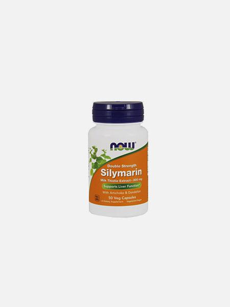 Silymarin Turmeric - 60 cápsulas - Now