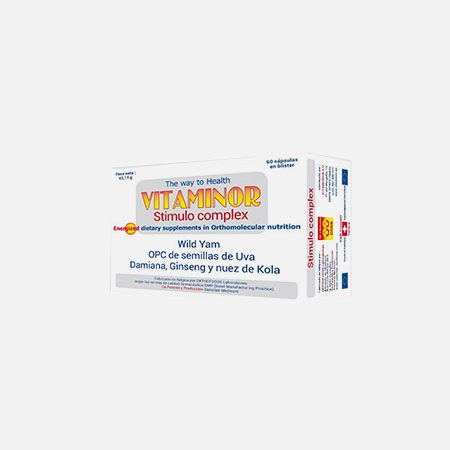 STIMULO Complex – 60 cápsulas – Vitaminor