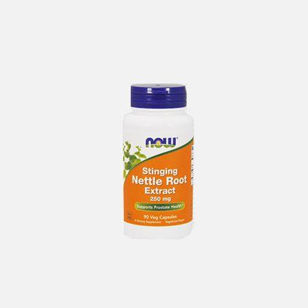 Stinging Nettle Root Extract (Extrato de Urtiga) 250 mg – 90 cápsulas – Now