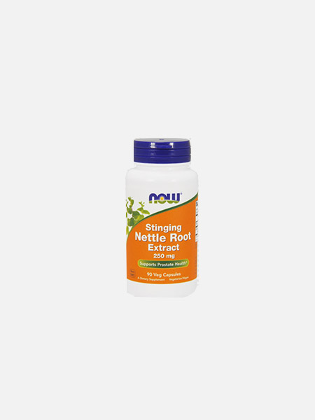 Stinging Nettle Root Extract (Extrato de Urtiga) 250 mg - 100 cápsulas - Now