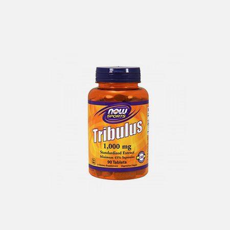 Tribulus 1000mg – 90 cápsulas – Now