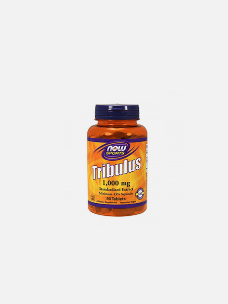 Tribulus 1000mg - 90 cápsulas - Now