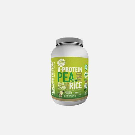 V-Protein Whole Grain Pea & Rice Baunilha – 1 Kg – Gold Nutrition