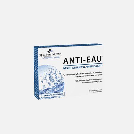 Anti-Eau – 30 comprimidos – 3 Chênes