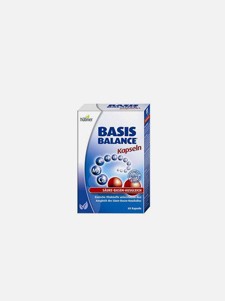 Basis Balance Kapseln - 60 cápsulas - Hubner