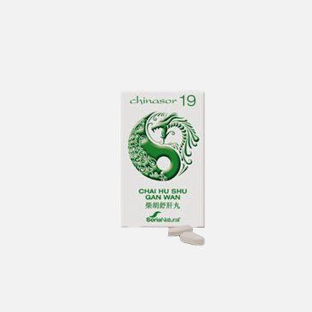 Chinasor 19 CHAI HU SHU GAN WAN – 30 comprimidos – Soria Natural