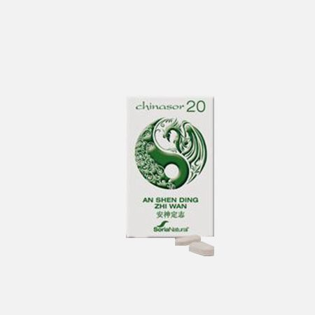 Chinasor 20 AN SHEN DING ZHI WAN – 30 comprimidos – Soria Natural