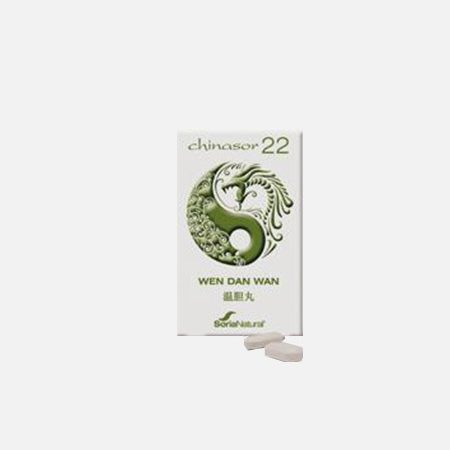 Chinasor 22 WEN DAN WAN – 30 comprimidos – Soria Natural