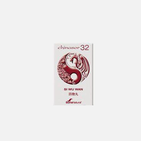 Chinasor 32 SI WU WAN – 30 comprimidos – Soria Natural