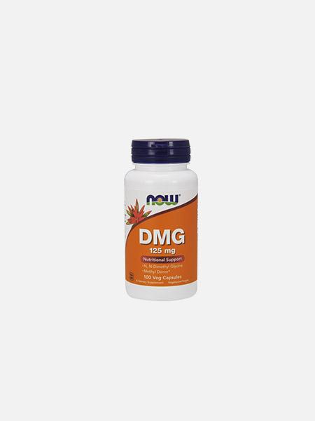 DMG 125mg - 100 cápsulas - Now