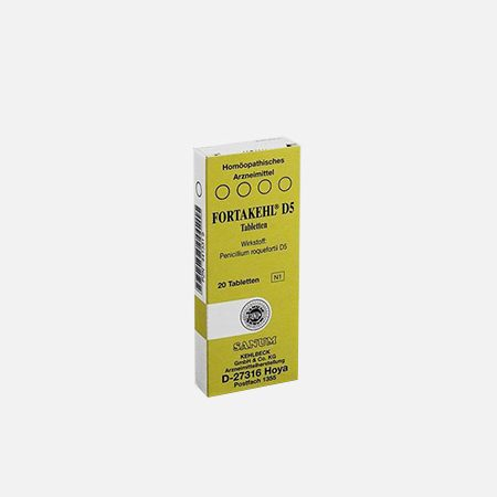Fortakehl D5 – 20 comprimidos – Sanum Kehlbeck