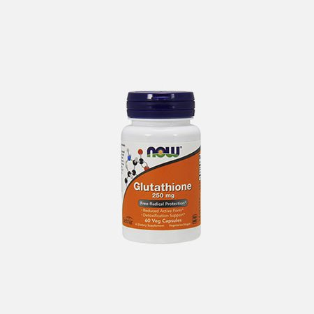 Glutathione 250mg – 60 cápsulas – Now