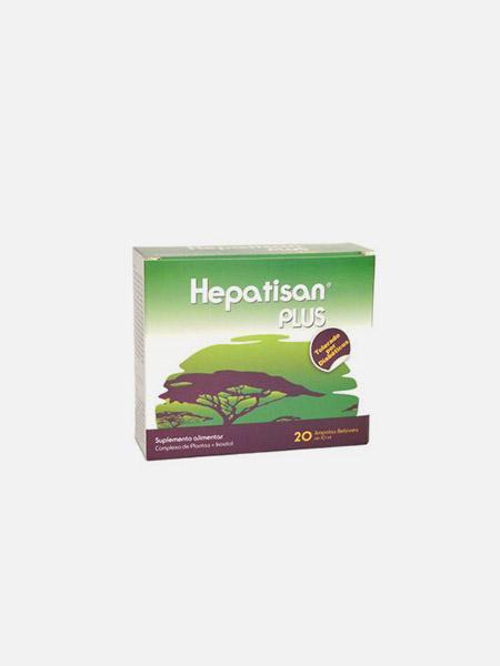 Hepatisan Plus - 20 ampolas - Naturodiet