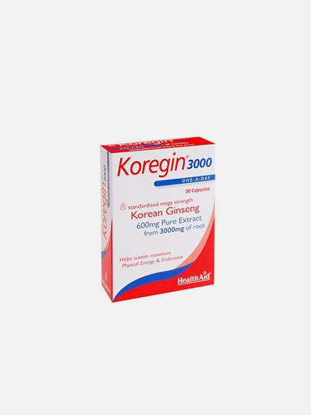 Koregin 3000 - 30 cápsulas - Health Aid