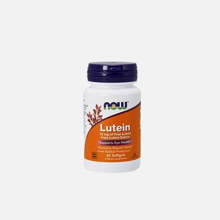 Lutein 10 mg – 60 cápsulas – Now