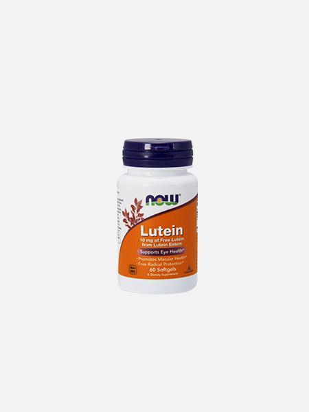 Lutein 10 mg - 60 cápsulas - Now