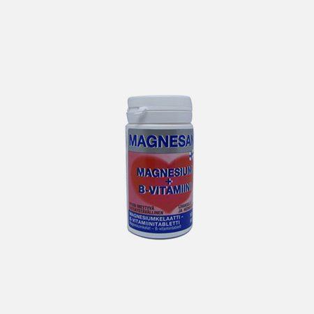 Magnesan (Magnesium + Vitamina B) – 100 comprimidos – Natural e Eficaz