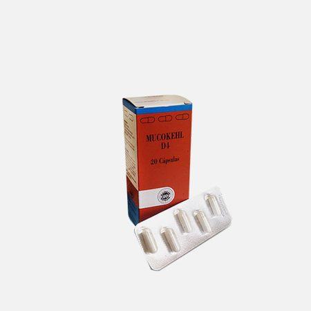 Mucokehl D4 – 20 cápsulas – Sanum Kehlbeck