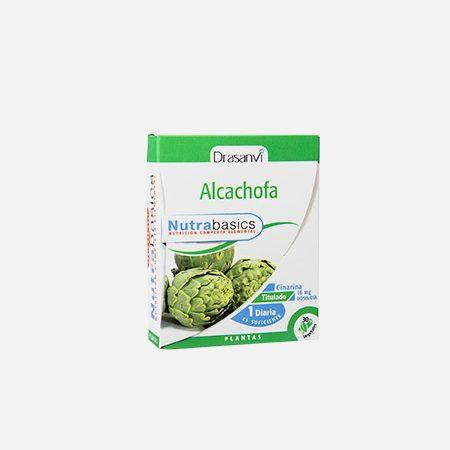 Nutrabasics Alcachofra – 30 cápsulas – Drasanvi
