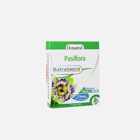 Nutrabasics Passiflora – 30 cápsulas – Drasanvi