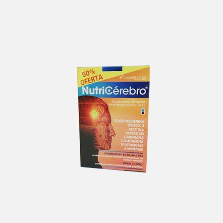 NutriCérebro 50% Oferta – 30+15 cápsulas – Calêndula
