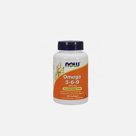 Omega 3-6-9 1000mg – 100 cápsulas – Now