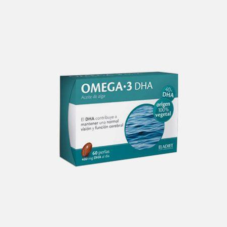 OMEGA 3 DHA óleo de algas – 60 cápsulas – Eladiet