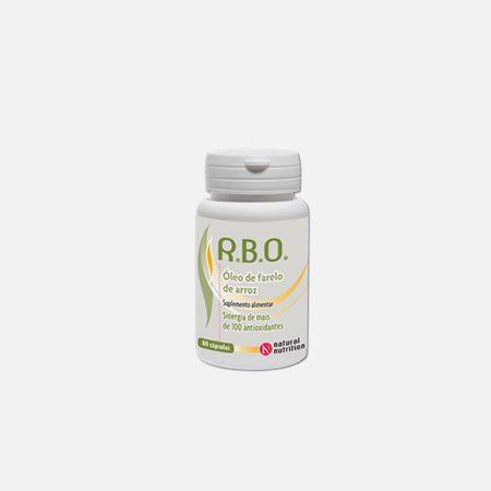 R.B.O. Óleo de Farelo de Arroz – 60 cápsulas – Natural Nutrition