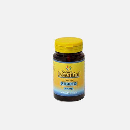 Silício 25mg – 50 cápsulas – Nature Essential