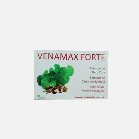 Venamax Forte – 20 ampolas – Natural e Eficaz