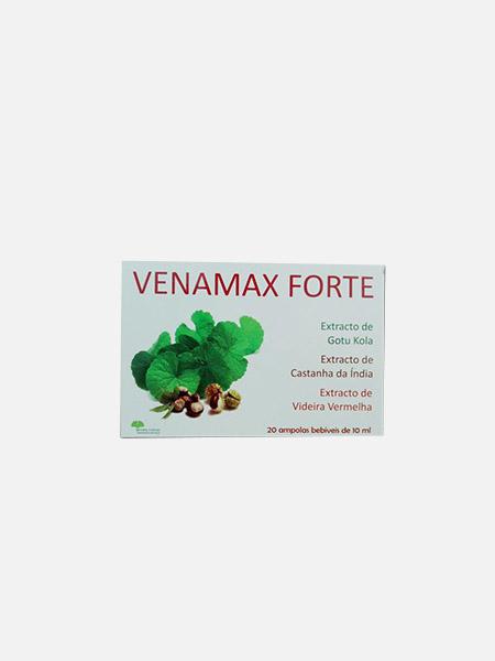 Venamax Forte - 20 ampolas - Natural e Eficaz