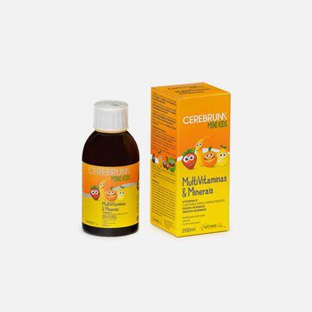 Cerebrum Mini Kids Multivitaminas & Minerais – 200ml – Natiris