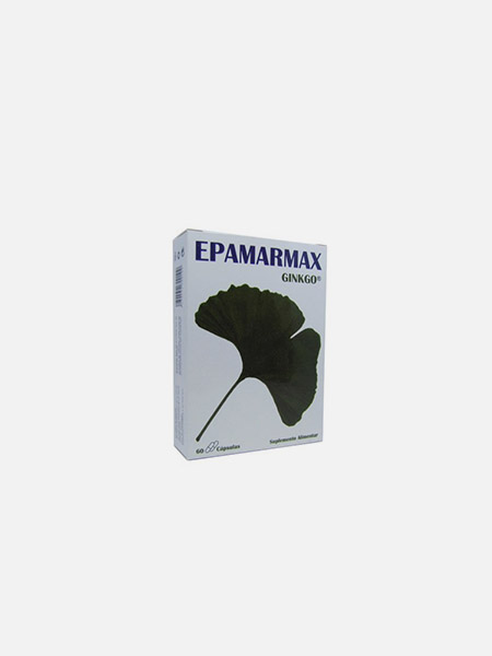 Epamarmax Ginkgo - 60 cápsulas - Natural e Eficaz
