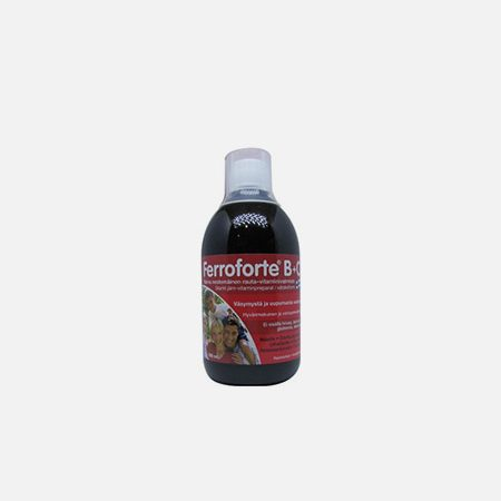 Ferroforte B+C – 500ml – Natural e Eficaz