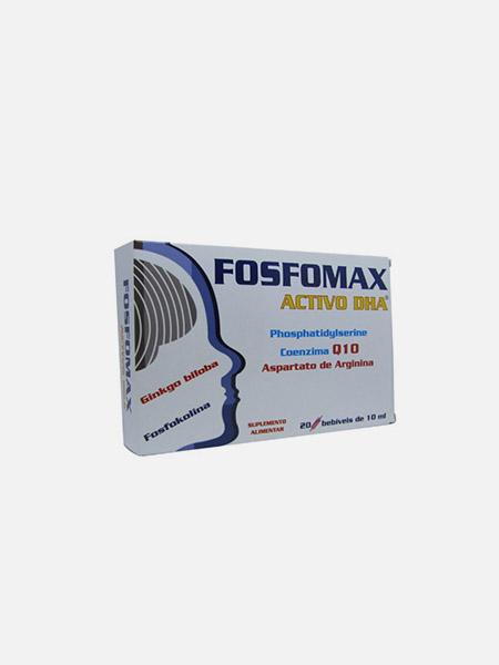 Fosfomax Activo DHA - 20 ampolas - Natural e Eficaz