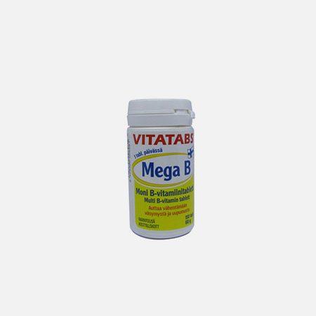 Vitatabs Mega B – 150 comprimidos – Natural e Eficaz