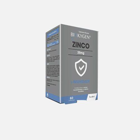 Biokygen Zinco – 60 cápsulas – Fharmonat