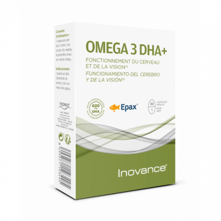 Inovance OMEGA 3 DHA+ – 30 cápsulas – Ysonut
