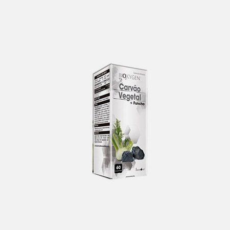Biokygen Carvão Vegetal + Funcho – 60 comprimidos – Fharmonat