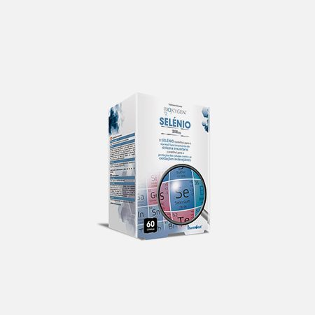 Biokygen Selénio – 60 cápsulas – Fharmonat