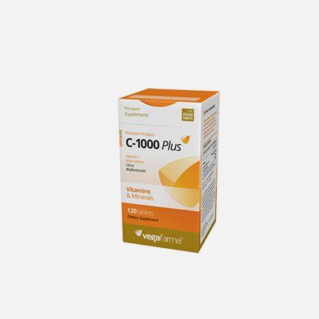 C-1000 Plus – 120 comprimidos – Vegafarma
