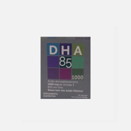 Natur 85 Omega 3 DHA 1000mg – 60 cápsulas – Natur