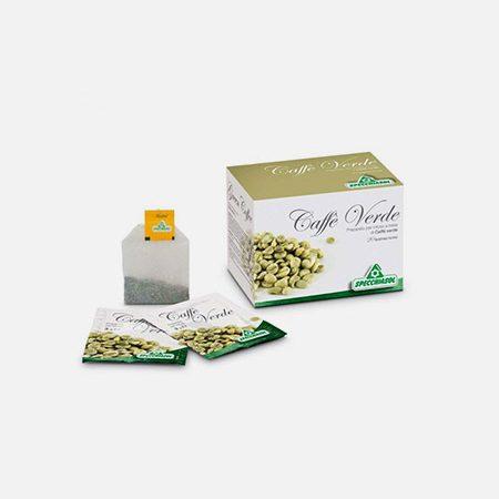 Infusão Café Verde Bio – 20 saquetas – Specchiasol